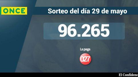 Resultados de la ONCE del 29 mayo 2017: número 96.265
