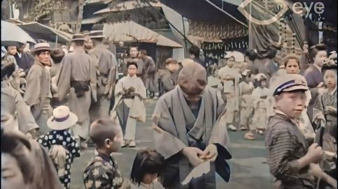 Disfruta de un increíble paseo en color por el Tokio de hace 100 años