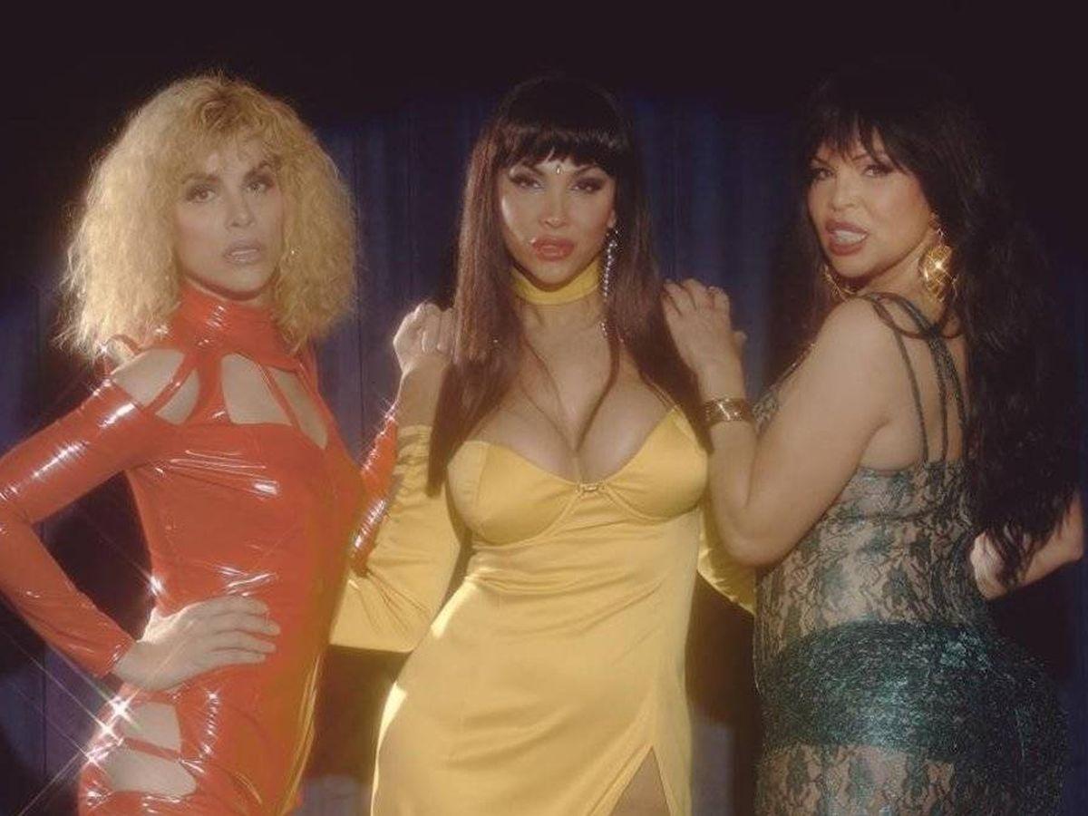 Foto: Las tres actrices protagonistas de 'Veneno'. (Atresmedia)