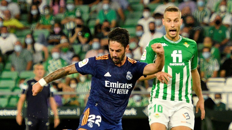 Isco, en el partido ante el Betis. (EFE)