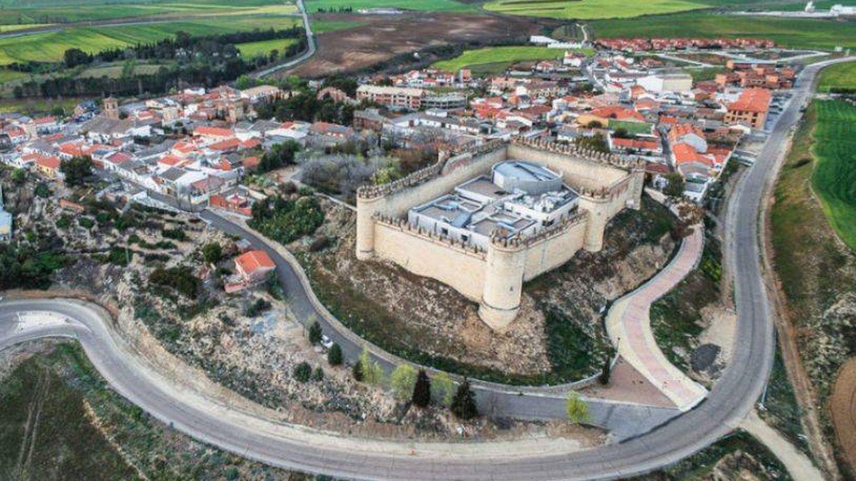 Vista aérea del castillo de la Vela. (Ministerio del Interior)