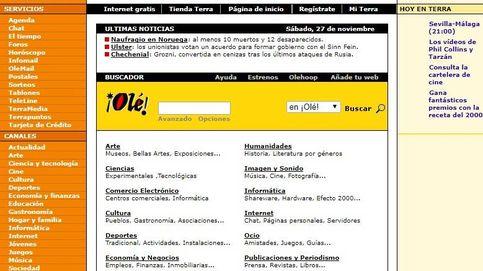 Adiós a Terra: así cambió en 18 años el portal pionero de internet en España