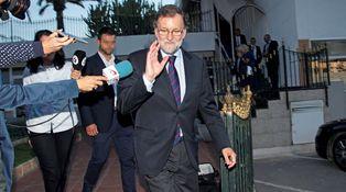 La soledad del Rajoy derrotado
