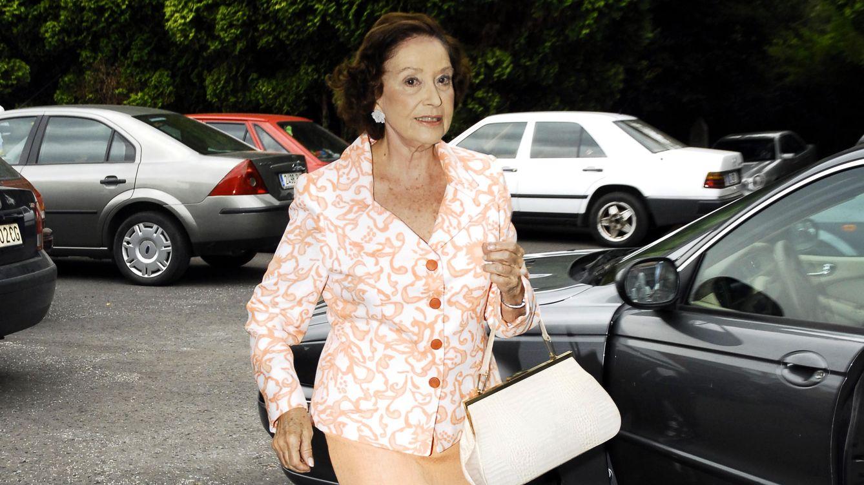 Carmen Franco abandona su retiro para acudir a la boda de un Entrecanales