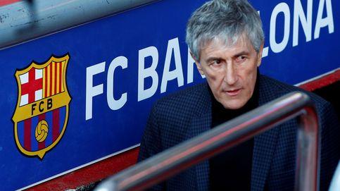 La mano dura de Quique Setién en el Barça y el peligroso amiguismo con los jugadores