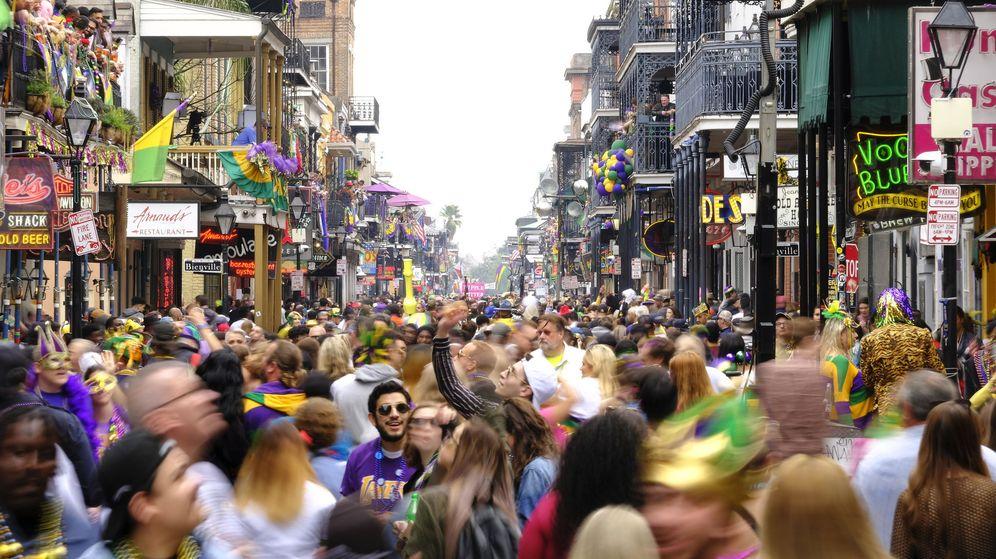 Foto: EL carnaval de Nueva Orleans, celebrado el pasado 25 de febrero (EFE)