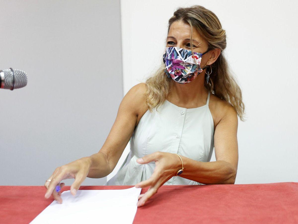 Foto: Yolanda Díaz, ministra de Trabajo y Economía Social. (EFE)