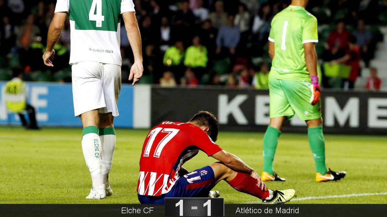 Foto: Vietto falló dos ocasiones clamorosas. (EFE)