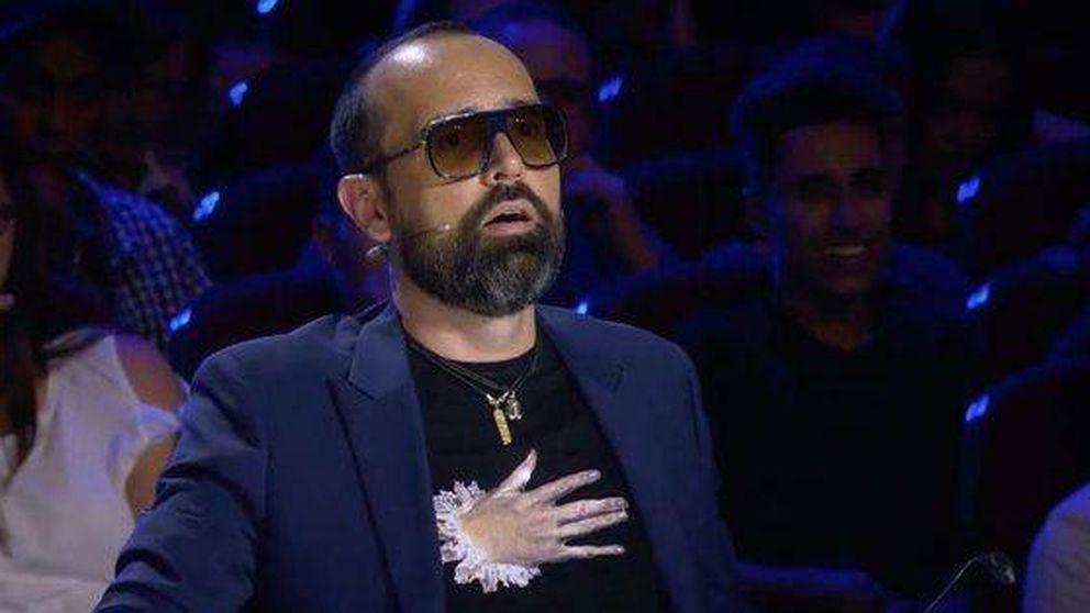 Risto, flipando con el mago que se lleva el pase de oro de Edurne en 'Got Talent'
