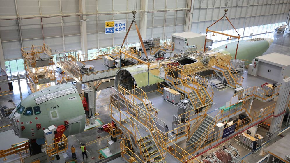 Airbus carcoma laboral en los hist ricos de la industria for La fabrica del mueble sevilla
