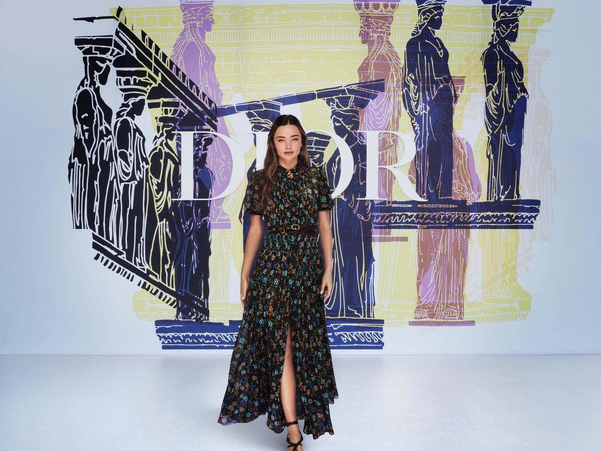 Foto: Miranda Kerr. (Dior)