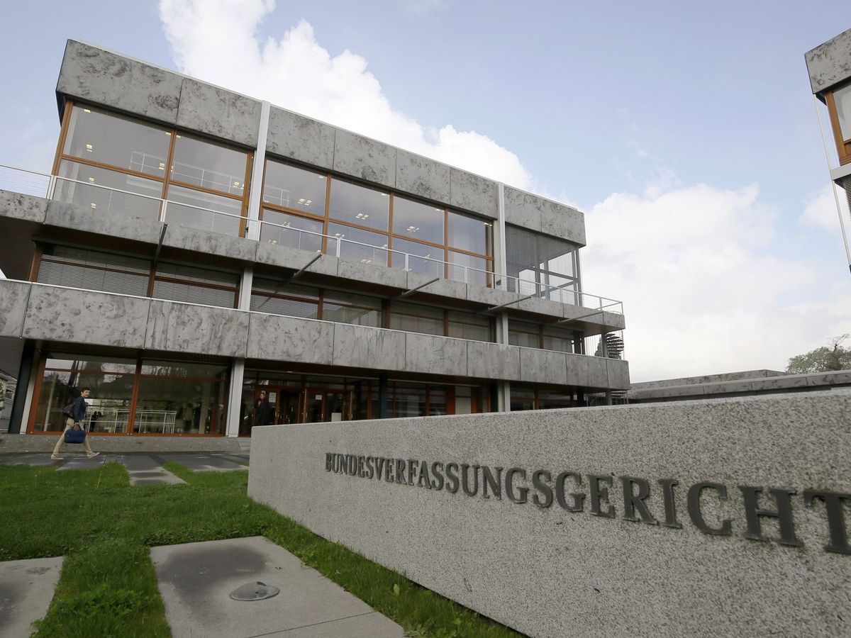 Foto: Tribunal Constitucional en Karlsruhe. (Alemania)