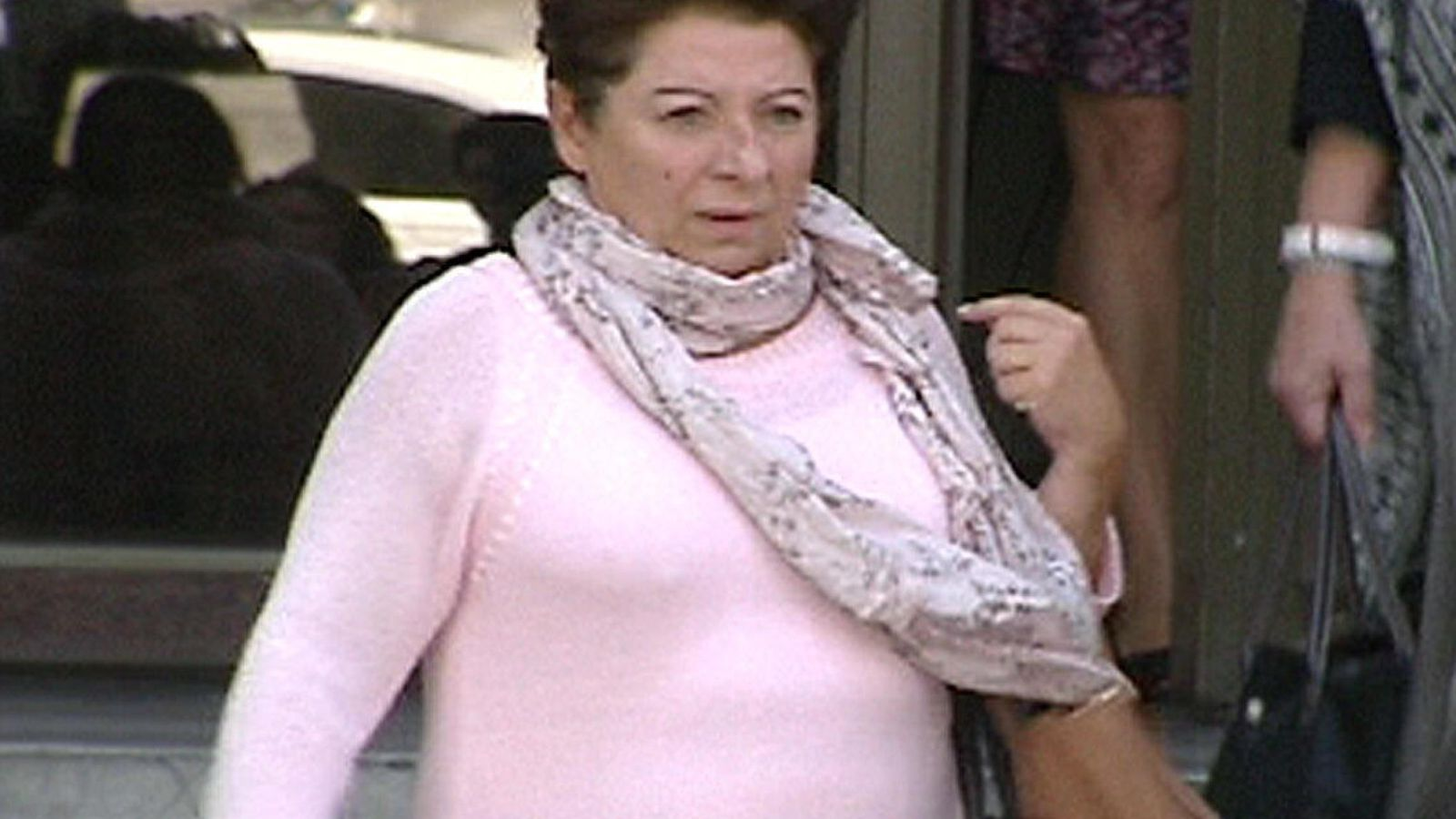 Foto: Imagen de televisión de Teresa Arellano, la secretaria personal de Rato. (EFE)
