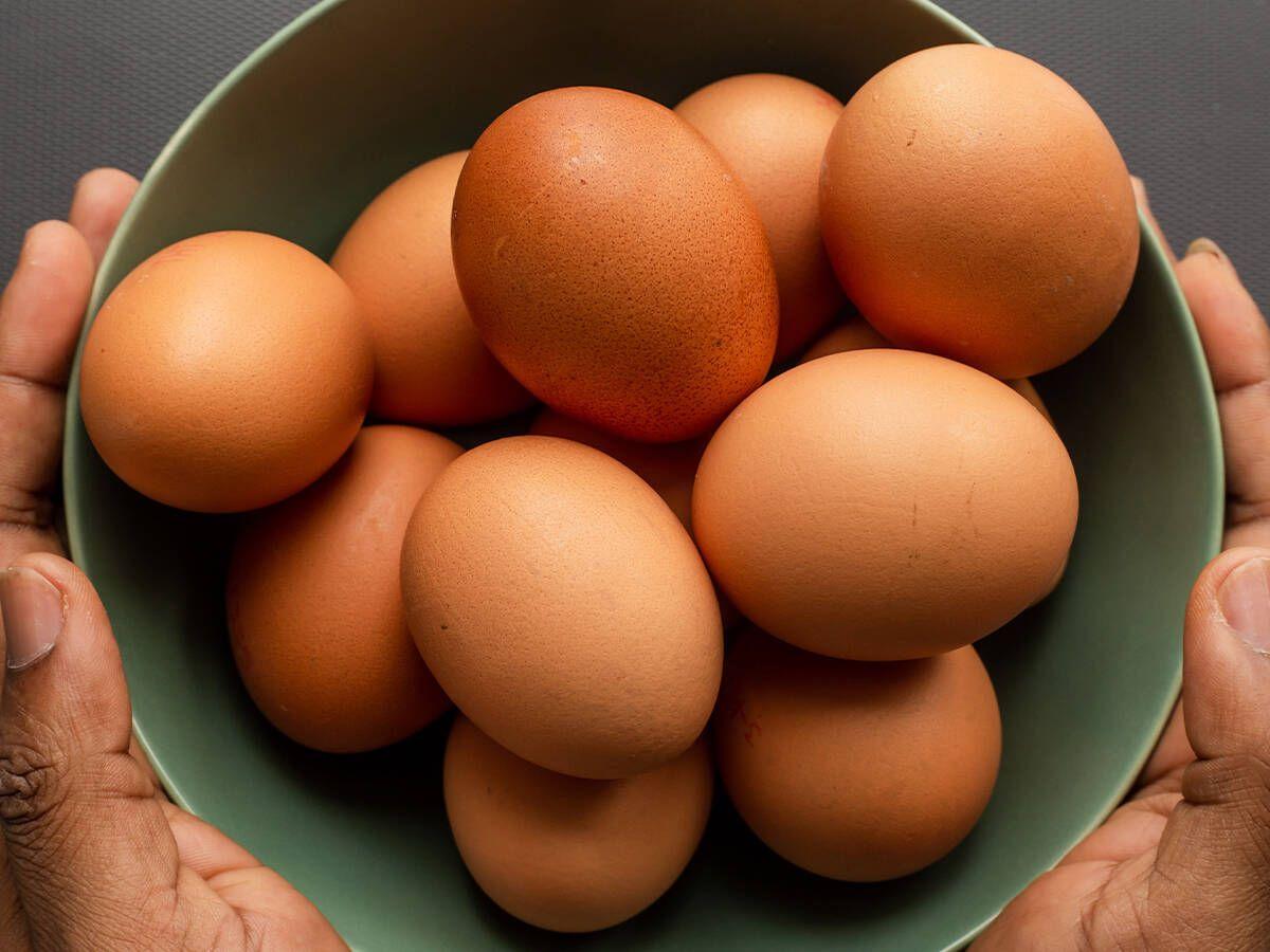 Foto: El nivel del colesterol en la yema puede ser de 185 miligramos. (Unsplash)