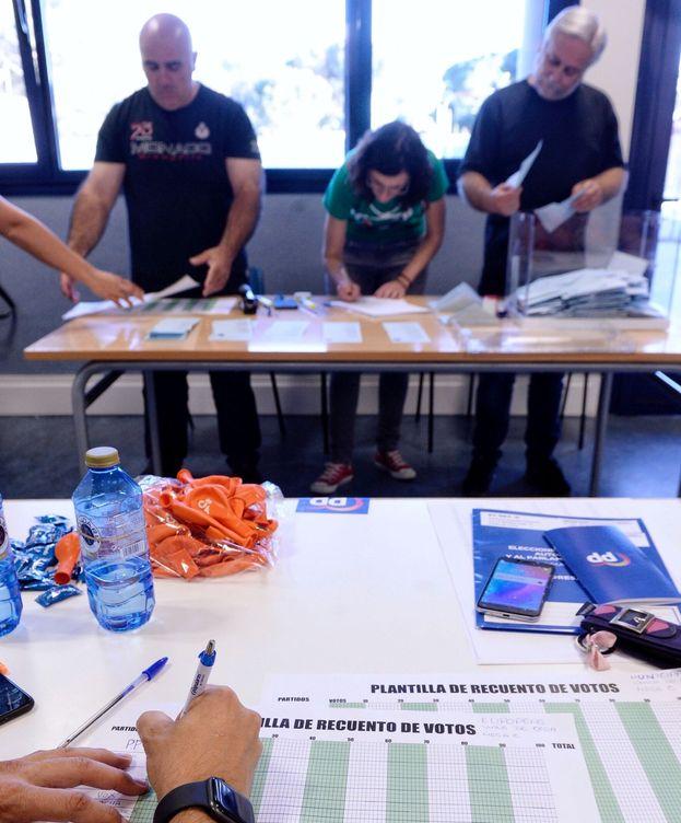 Foto: Un colegio electoral, el pasado 26-M. (EFE)