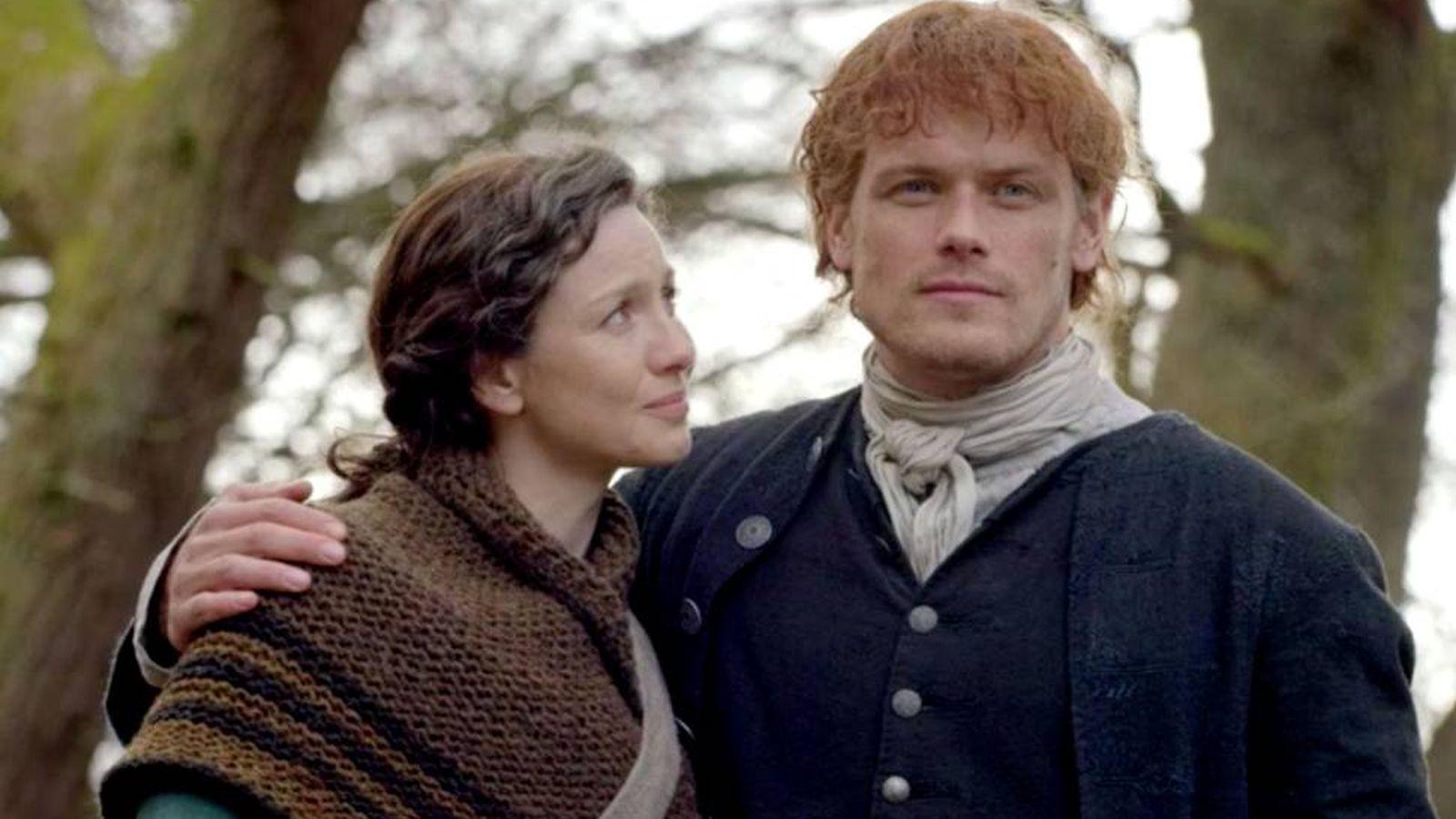 Foto: Imagen de los protagonistas de 'Outlander'. (Starz)