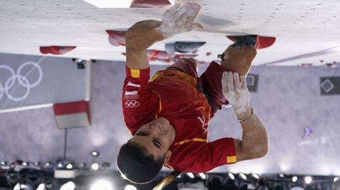 15 metros en seis segundos: Alberto Ginés, rozando el podio en la final de escalada