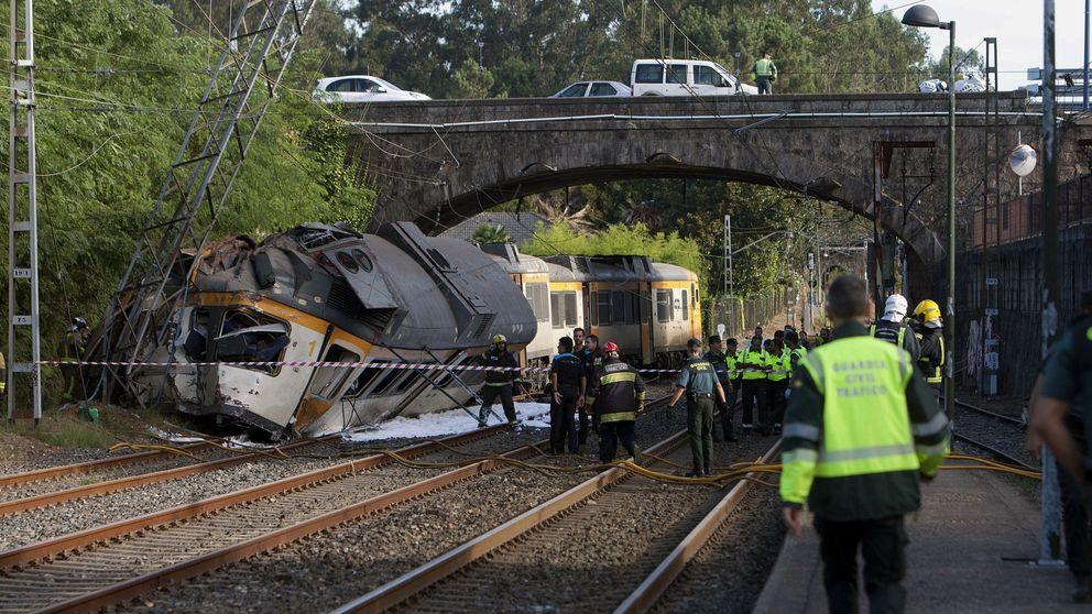 Accidente de tren mortal en O Porriño