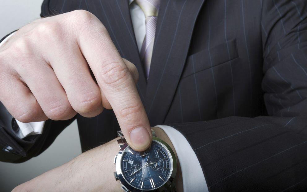 Foto: A pesar de que debería ser al revés, sentimos cómo cada vez pasa el tiempo más rápido. (iStock)