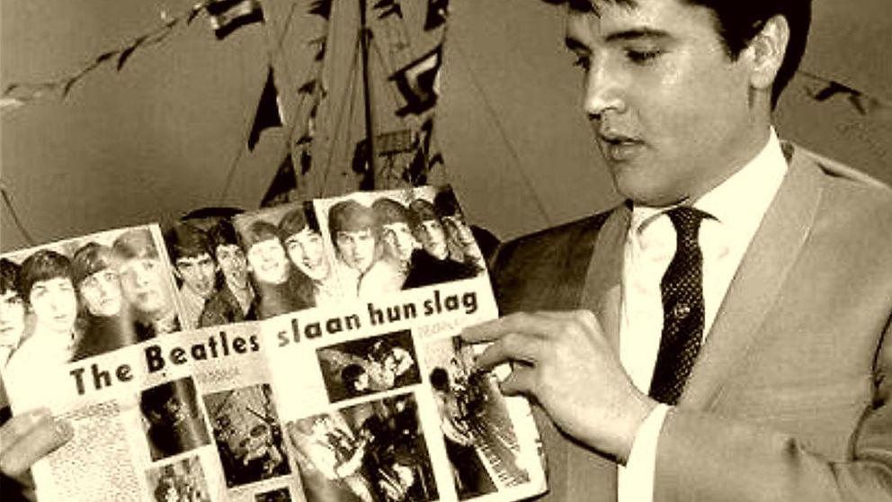 El día que Elvis enseñó a mover las caderas a los Beatles