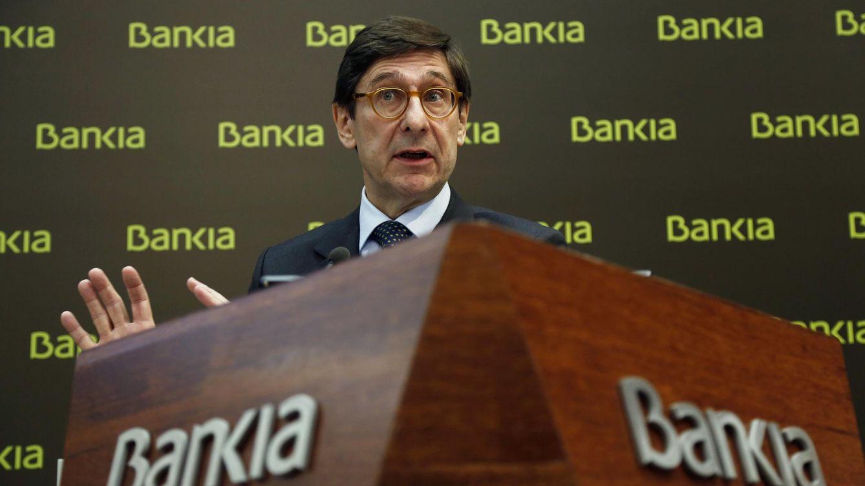 Foto: El presidente de Bankia, José Ignacio Goirigolzarri, anuncia los resultados de 2014. (REUTERS/Susana Vera)