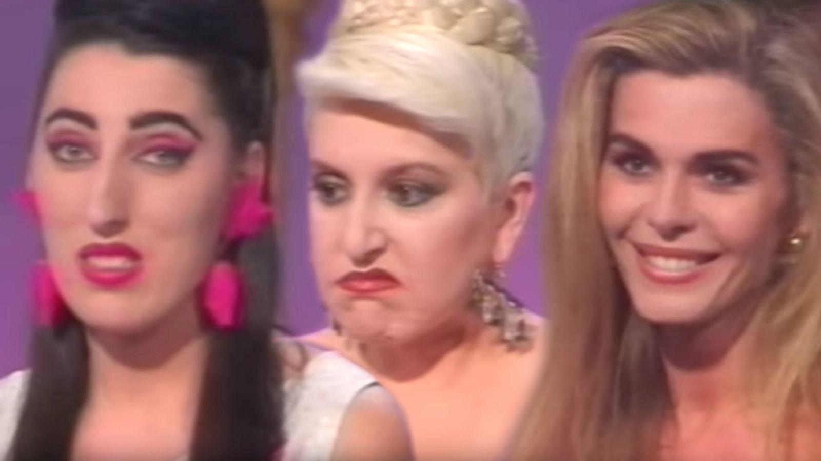 Foto: Rossy de Palma, Loles León y Bibiana Fernández, en el programa 'Estress' de La 2. (Imagen: EL CONFI TV)