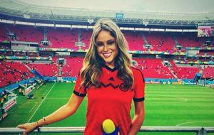 Vanessa Huppenkothen, la reportera que está causando sensación en el Mundial de Brasil