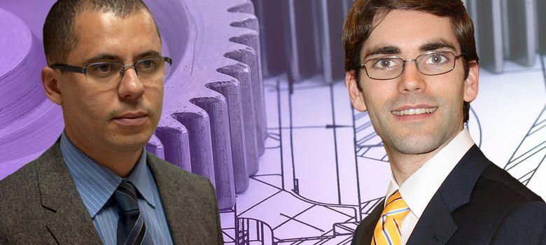 Foto: Eduardo Rocón (izquierda) y Tomás Palacios (derecha)