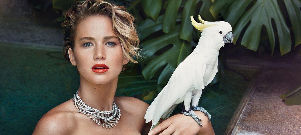 Jennifer Lawrence emula a Cristina Pedroche desnuda con una ...