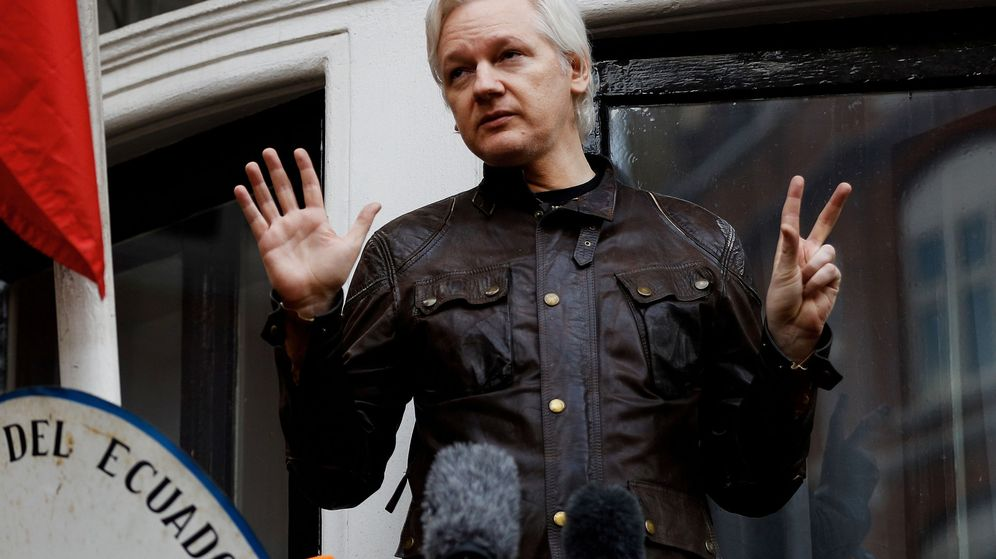 Foto: Julian Assange. (Reuters)