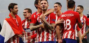 Post de Olympique vs Atlético: Griezmann da al Atleti su tercera Europa League