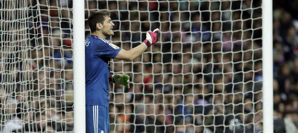 Foto: Casillas fue clave en el triunfo del Real Madrid ante el Cruz Azul (EFE)