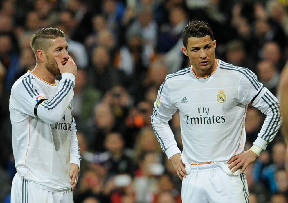 Foto: Sergio Ramos y Cristiano Ronaldo, durante un partido de la pasada temporada (Cordonpress)
