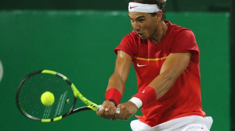 Nadal y Marc López ganan y se colocan a un partido de la lucha por el podio