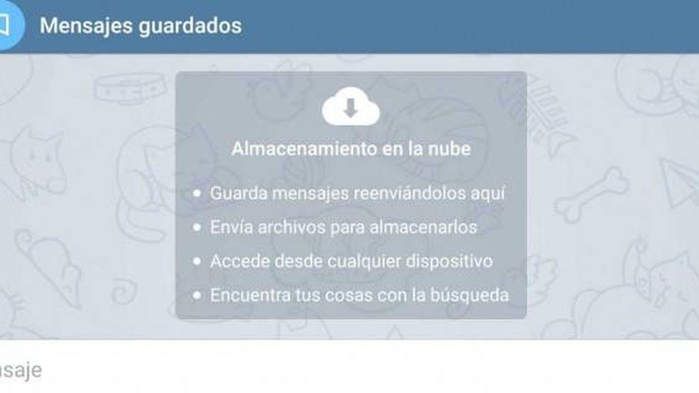 Chat privado en Telegram. (Foto: Telegram)
