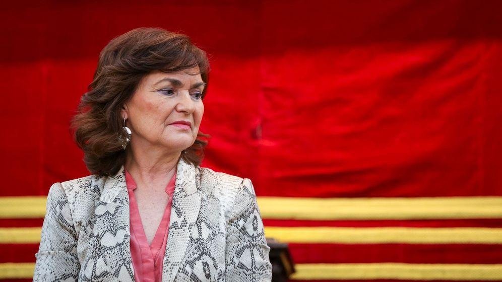 Foto: La vicepresidenta del Gobierno, Carmen Calvo, el pasado 30 de enero en Madrid. (EFE)