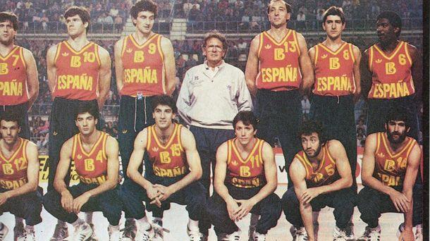 Foto: Corbalán formaba parte del equipo que consiguió la plata en Los Ángeles 84.