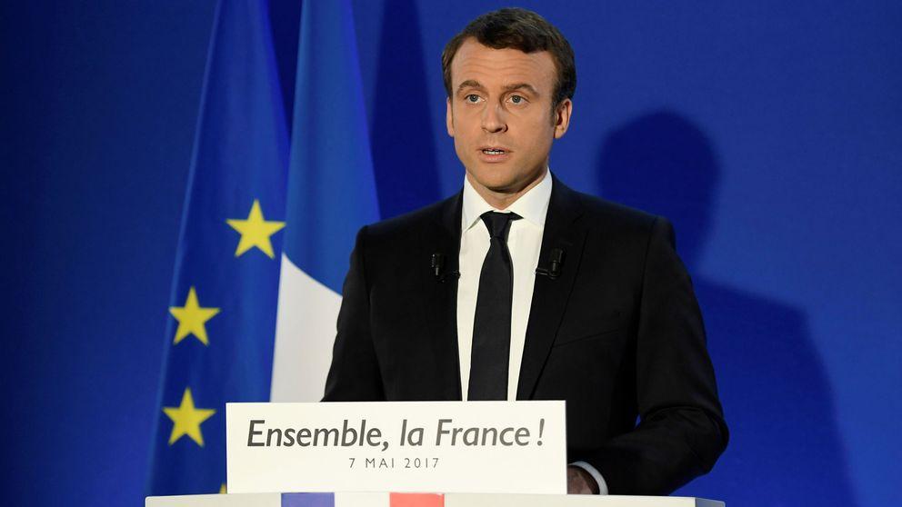 La victoria de Macron da esperanzas a los partidarios de relanzar Europa