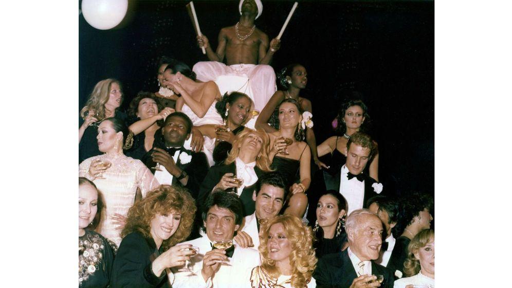 Foto: Una fiesta en los inicios de la Joy Eslava.