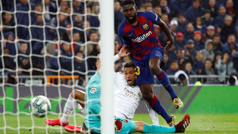La acción del gol de Mariano. (Reuters)