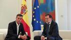 Sánchez presta a Rajoy todo su apoyo en la defensa de la democracia frente al 1-O