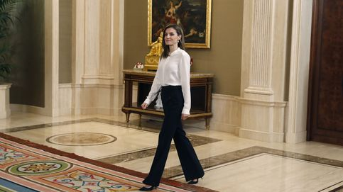La Reina recibe dos audiencias en el palacio de la Zarzuela