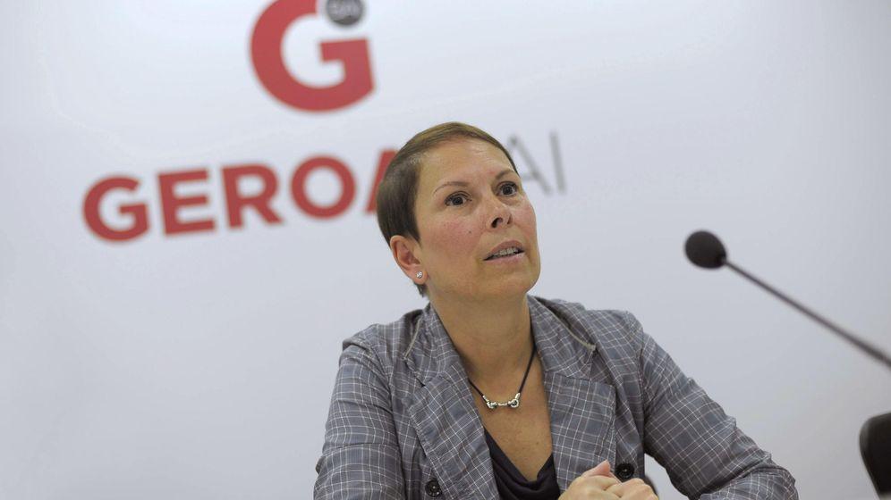 Foto: La candidata a la Presidencia de Navarra por Geroa Bai, Uxue Barkos (EFE)