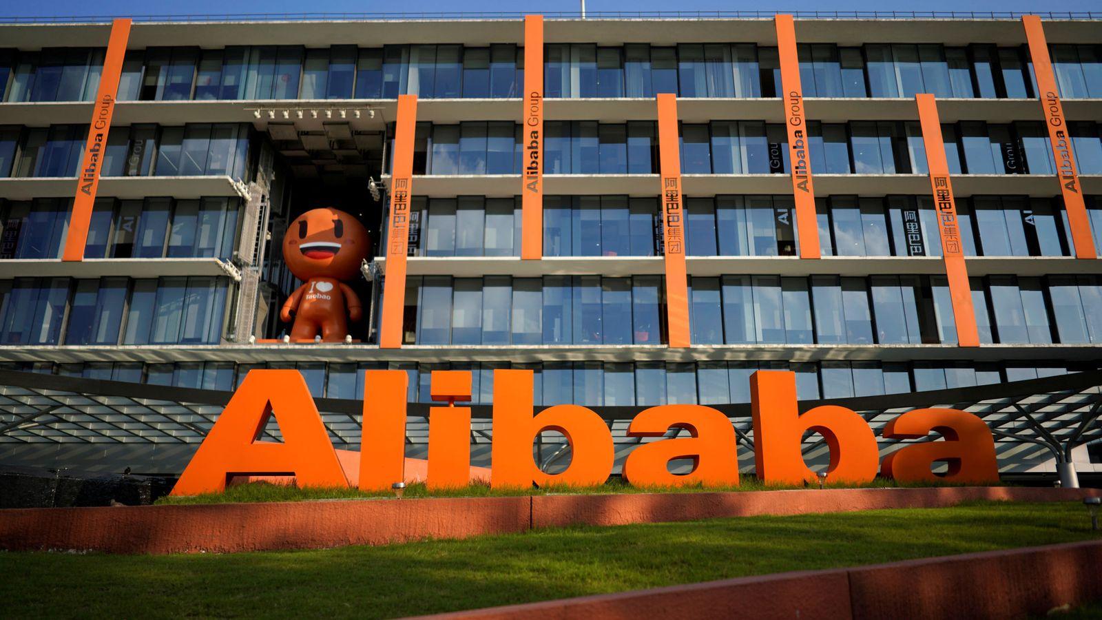 Foto: El logo de Alibaba. (Reuters)