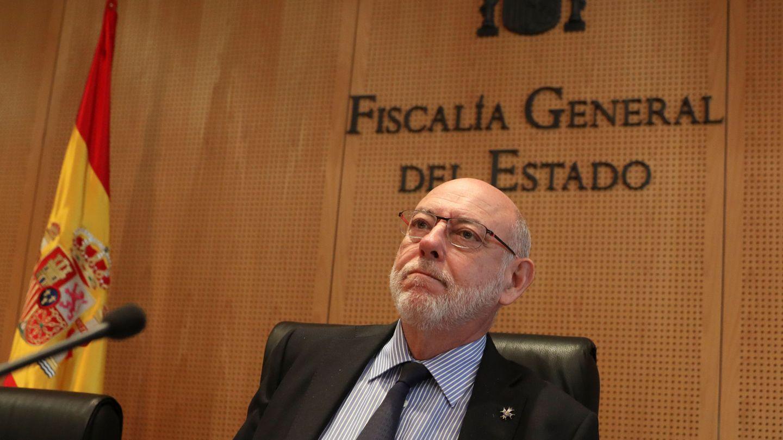 El fiscal general del Estado, José Manuel Maza. (Reuters)