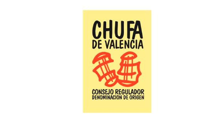 Sello de la denominación de origen de la chufa valenciana.