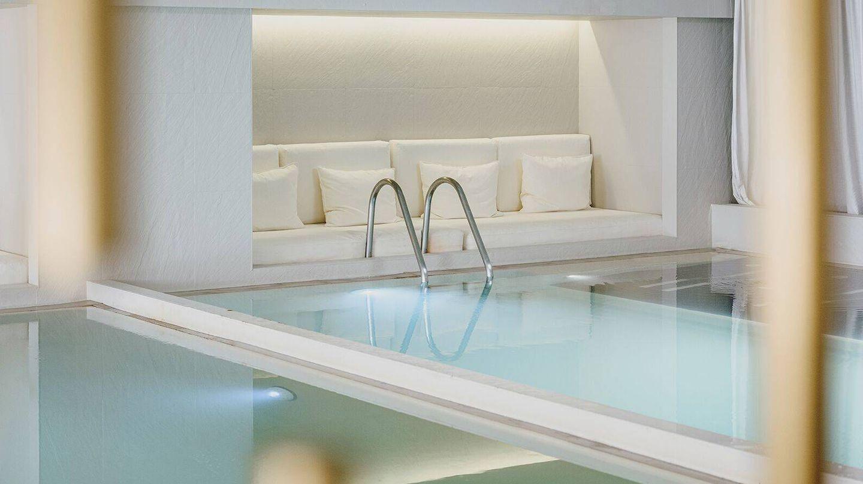 El spa, con tratamiento de Clarins.