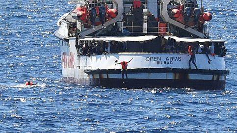 El Open Arms ante Lampedusa