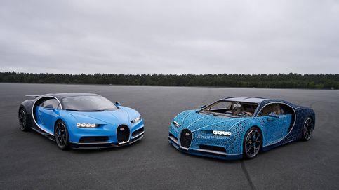 Un millón de piezas de plástico y metal para hacer el Bugatti de Lego