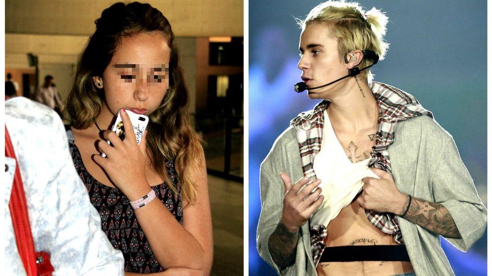 Andreíta Janeiro, desolada por la última decisión de su ídolo Justin Bieber